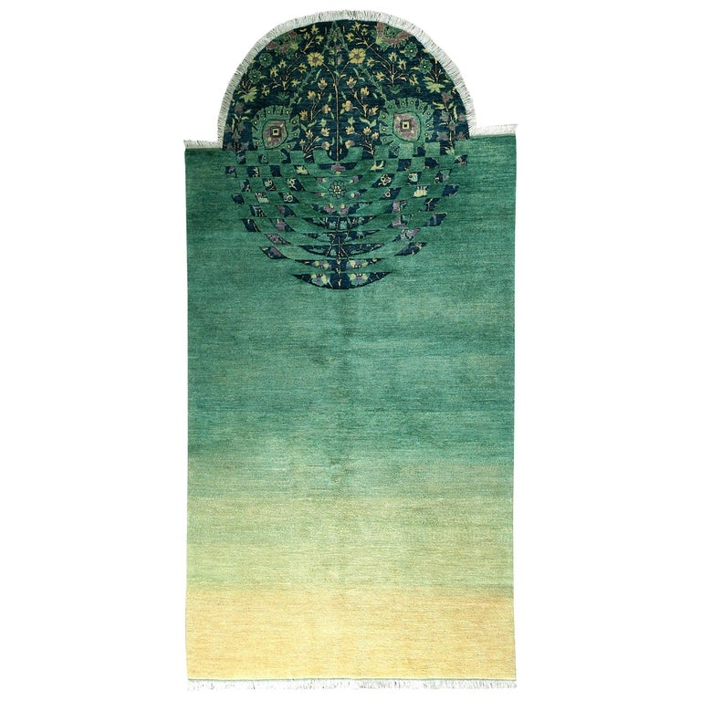 You Spin Me Round - Contemporary Rug made in Afghanistan For Sale