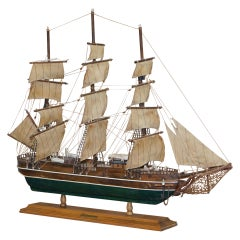 Young America Clipper Ship 1853 Model Realistic Representation Large Sized
