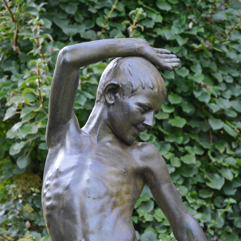 Young Dancer in Bronze For Sale 1