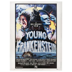 Young Frankenstein 1974 U.S. 30 by 40 Film Poster