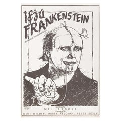 """""""Young Frankenstein"""" 1988 Hungarian A1 Film Poster"""