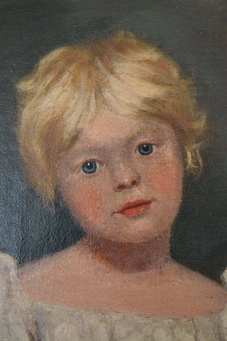 Regency Young Girl after Sir Thomas Lawrence For Sale