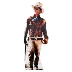 Young John Wayne Silhouette, from a Traveling Cinema, 1980-1997