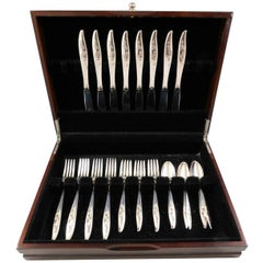 Young Love by Oneida Sterling Silver Flatware Set for 8 Service 32 Pieces