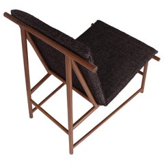"""Your Skin"" Lounge Chair Mexican Contemporary Design in Beechwood"