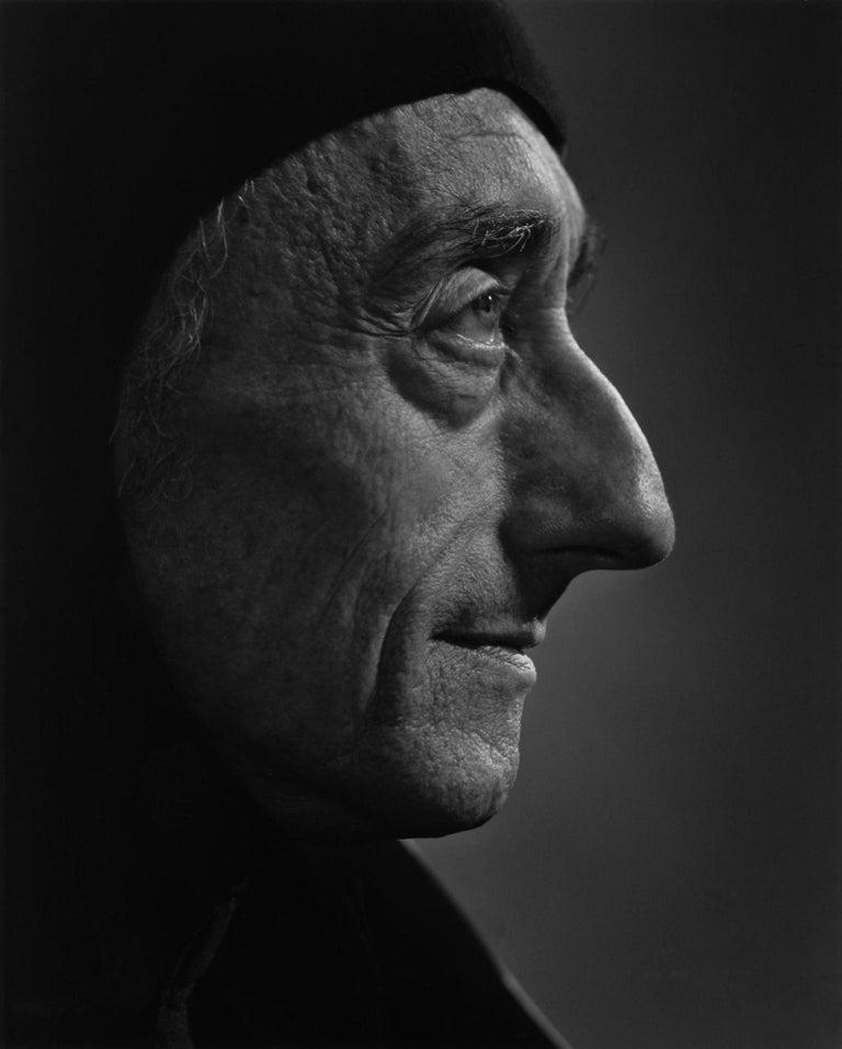 Yousuf Karsh Portrait Photograph - Jacques Cousteau