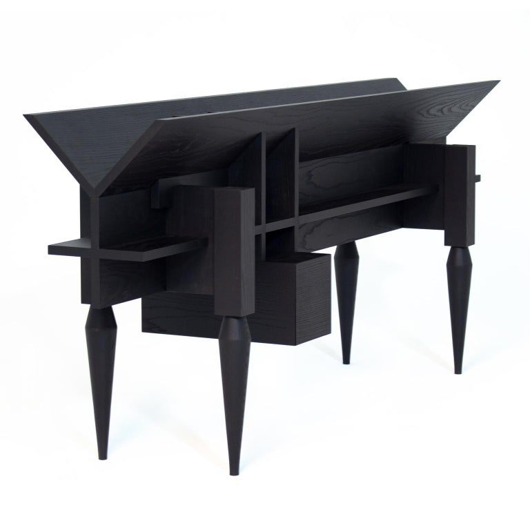 Stained Contemporary Console /Sideboard YPSILON by Studio 1+11 , 21st Century, Germany For Sale