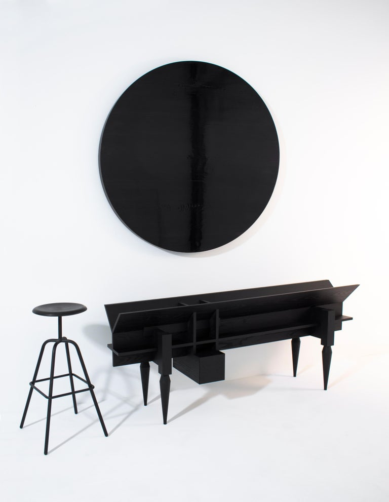 Ash Contemporary Console /Sideboard YPSILON by Studio 1+11 , 21st Century, Germany For Sale
