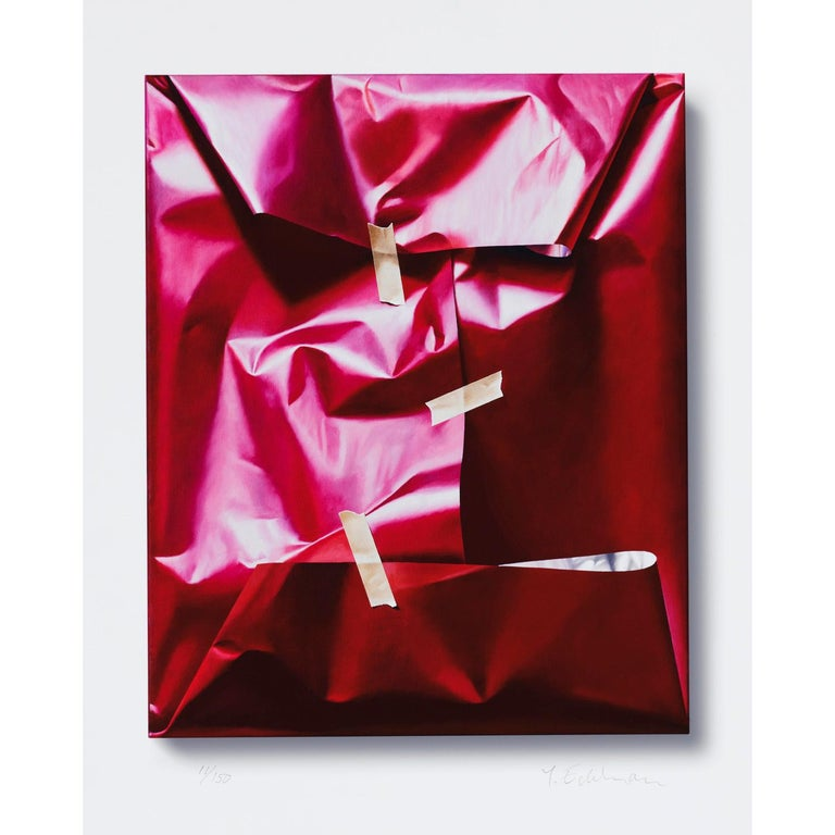 Publisher GKM. Unframed. Edition of 150 ex.  Free shipment worldwide.  Reality or fantasy? What is the difference between fantasy and fact, between night and day, between torment and transports of delight? Yrjö Edelmann's pictures are frequently