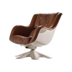 Yrjö Kukkapuro '418' Lounge Chair For Haimi, Finland, 1960s