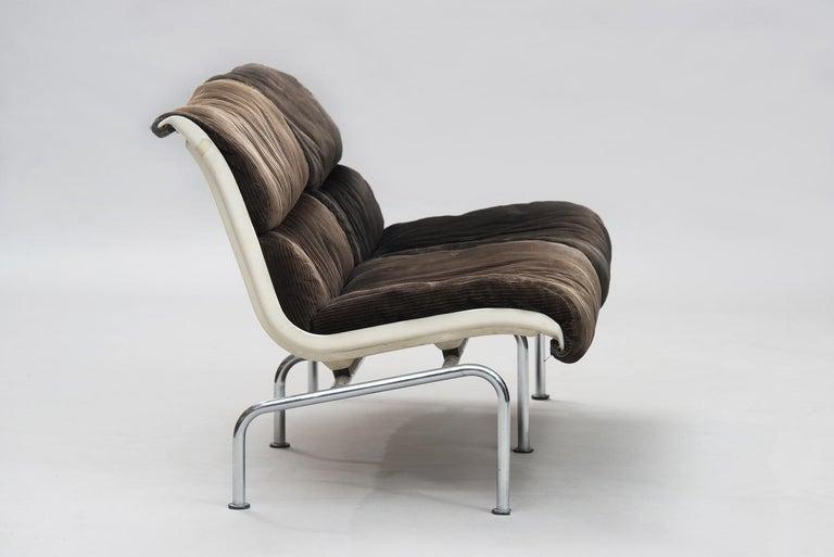 Yrjö Kukkapuro mid-century modern Set of Sofas for Haimi, 1960s. In Fair Condition For Sale In Porto, PT