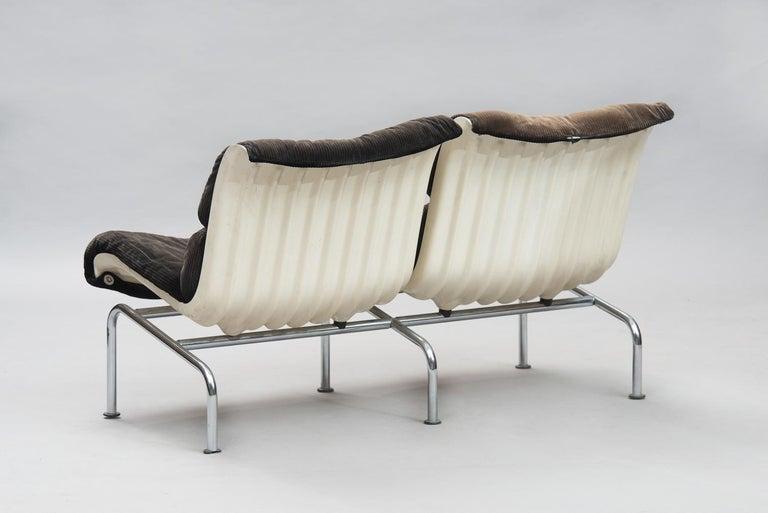 Mid-20th Century Yrjö Kukkapuro mid-century modern Set of Sofas for Haimi, 1960s. For Sale