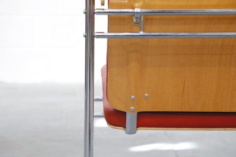Yrjö Kukkapuro 'Skaala' Leather Lounge Chairs for Avarte, Finland, 1970s For Sale 14