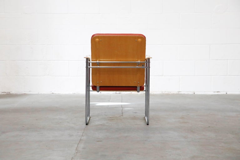 Yrjö Kukkapuro 'Skaala' Leather Lounge Chairs for Avarte, Finland, 1970s For Sale 2