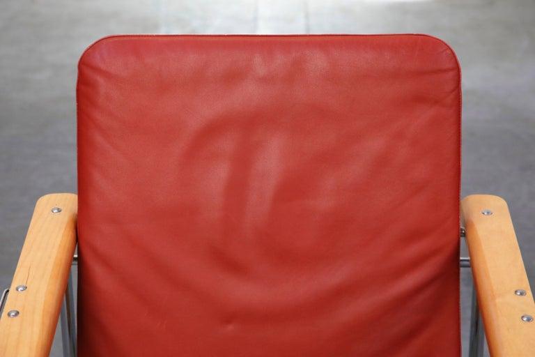 Yrjö Kukkapuro 'Skaala' Leather Lounge Chairs for Avarte, Finland, 1970s For Sale 3