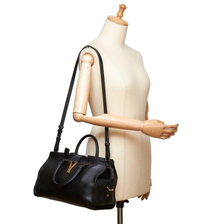 7dd41ae33b9 Yves Saint Laurent YSL Black Small Cabas Chyc Bag For Sale 5