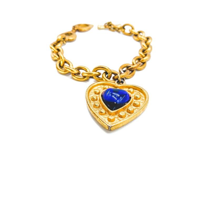 YSL Bracelet Vintage 1980s In Good Condition In London, GB