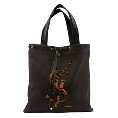 YSL Logo Tote Bag
