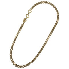 YSL Long Chain 1990s Necklace