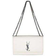 YSL Saint Laurent Kate Grain De Poudre Shoulder Bag Chain