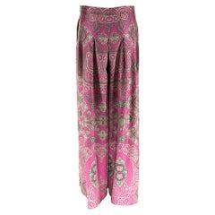 YSL Spring 2012 Silk Trousers