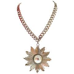 YSL Sunburst Necklace