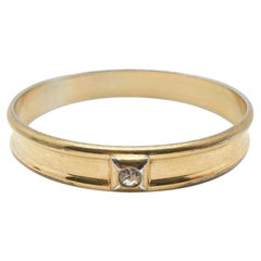 Ysl Vintage Bangle Gilt Rhinestone 1980S