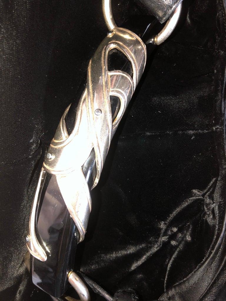 YSL Yves Saint Laurent Rive Gauche by Tom Ford Mombasa Velvet Evening Bag For Sale 1