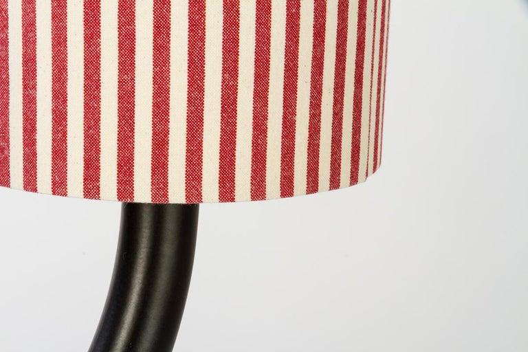 Ytree Tischlampe in Farbige Keramik und Stoffschirm Entworfen von Aldo Cibic 2