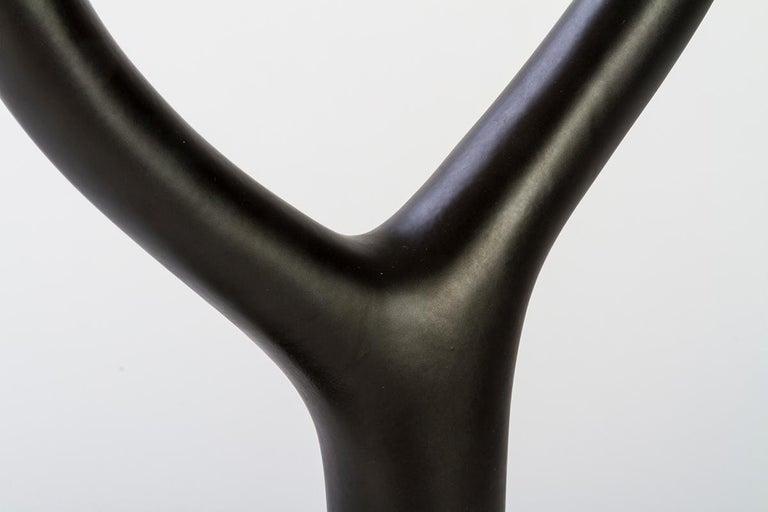 Ytree Tischlampe in Farbige Keramik und Stoffschirm Entworfen von Aldo Cibic 3