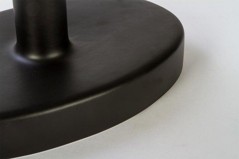 Ytree Tischlampe in Farbige Keramik und Stoffschirm Entworfen von Aldo Cibic 4