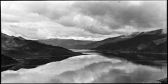 Reflections of Heaven, Tibet, Black and White Contemporary Landscape Photograph