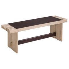 Yuga Natural Wood Bench