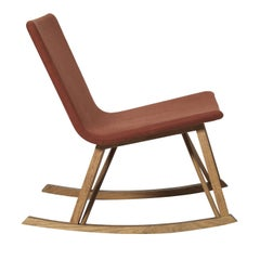Yuit Red Rocking Chair