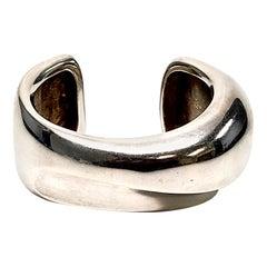 Yukihiro Shibata Sterling Silver Cuff Bracelet