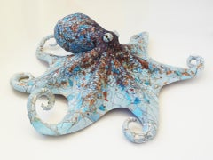 Caroline - Caribbean Reef Octopus Freestanding Sculpture of Marine Sea Animal