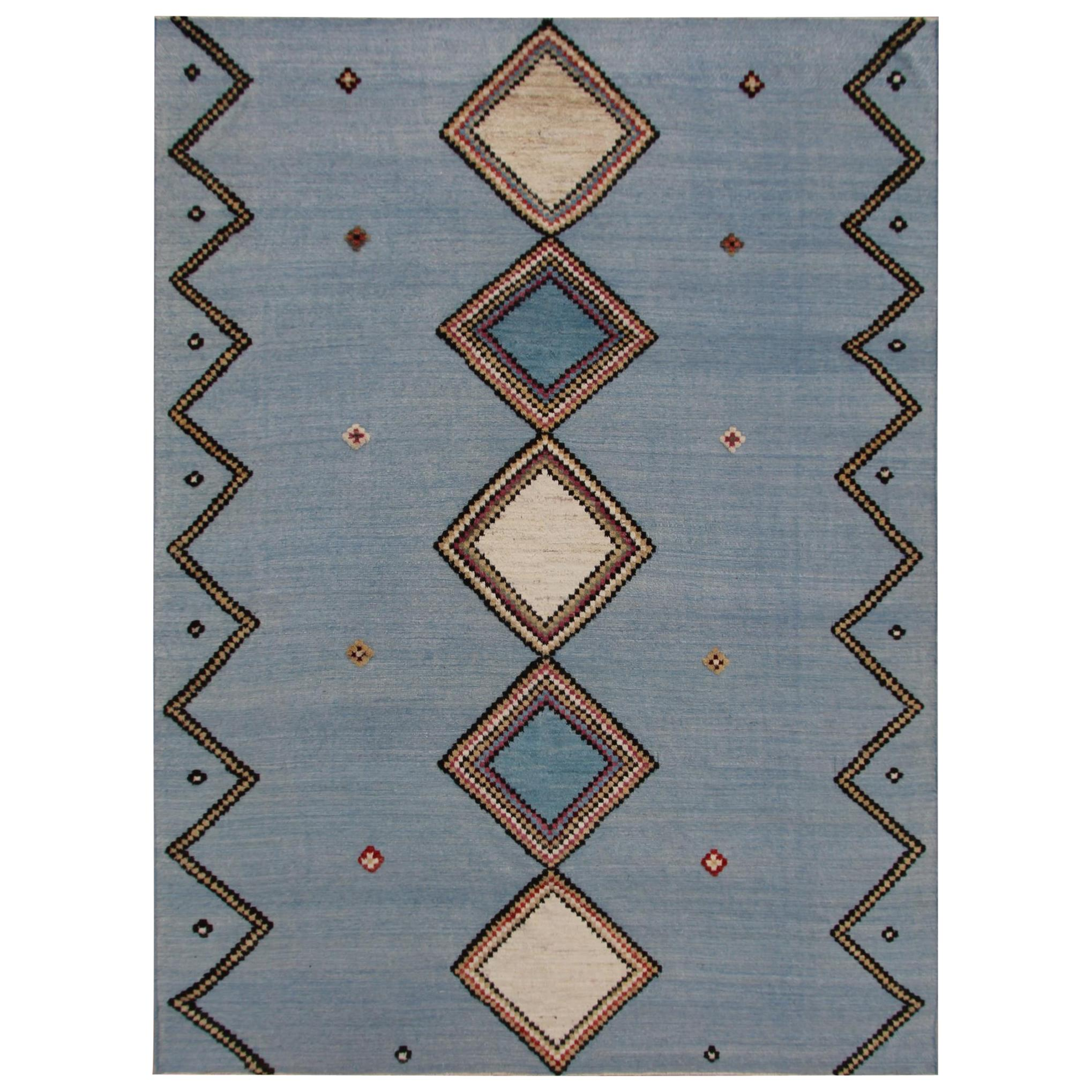 Yuma Hand-Knotted Wool Contemporary Rug