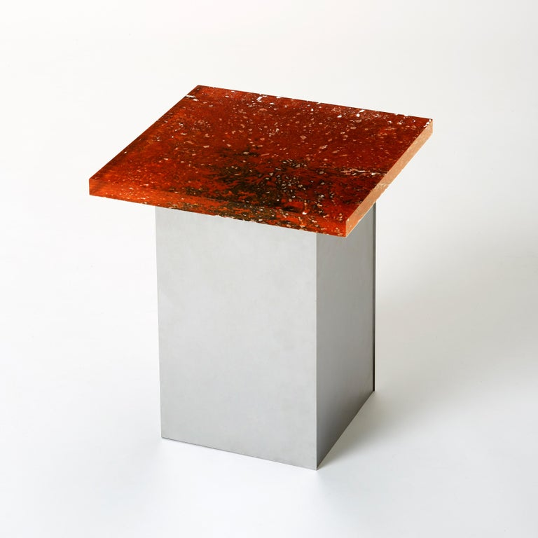 Stool designed by Yuma Kano.