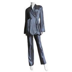 Yumi Eto Silk Parachute Pant Suit
