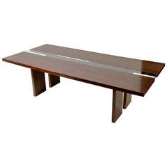 YunaMod Macassar Ebony Dining Table