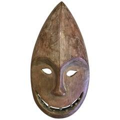Yupik Yup'ik Native American Alaska Carved Wood Anthropomorphic Spirit Mask