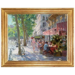 Paris in Spring - Oil Paint, Portrait Painting, Impressionist, 21st Century