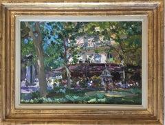 PARISIAN CAFE PARIS.Yuri Krotov Russian contemporary artist