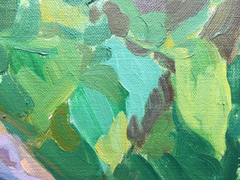 «Sleeping» oil on canvas, French impressionist style by Russian artist Yuri Krotov  Dimension art cm: 40 H x 51 W x 2 D Dimension art inches: 16 H x 20 W x 0,7 D Dimension frame cm:54 H x 65 W x 6 D dimension frame inches: 21 H x 25.5 W x 2.3