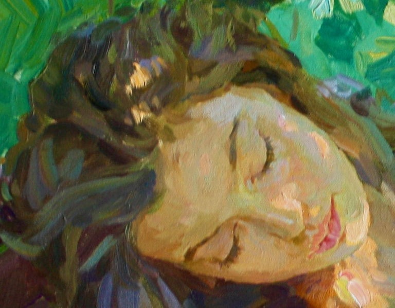 Sleeping ,,Yuri Krotov contemporary Russian artist impressionist  For Sale 2