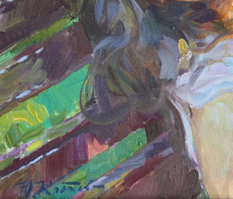 Sleeping ,,Yuri Krotov contemporary Russian artist impressionist  For Sale 4