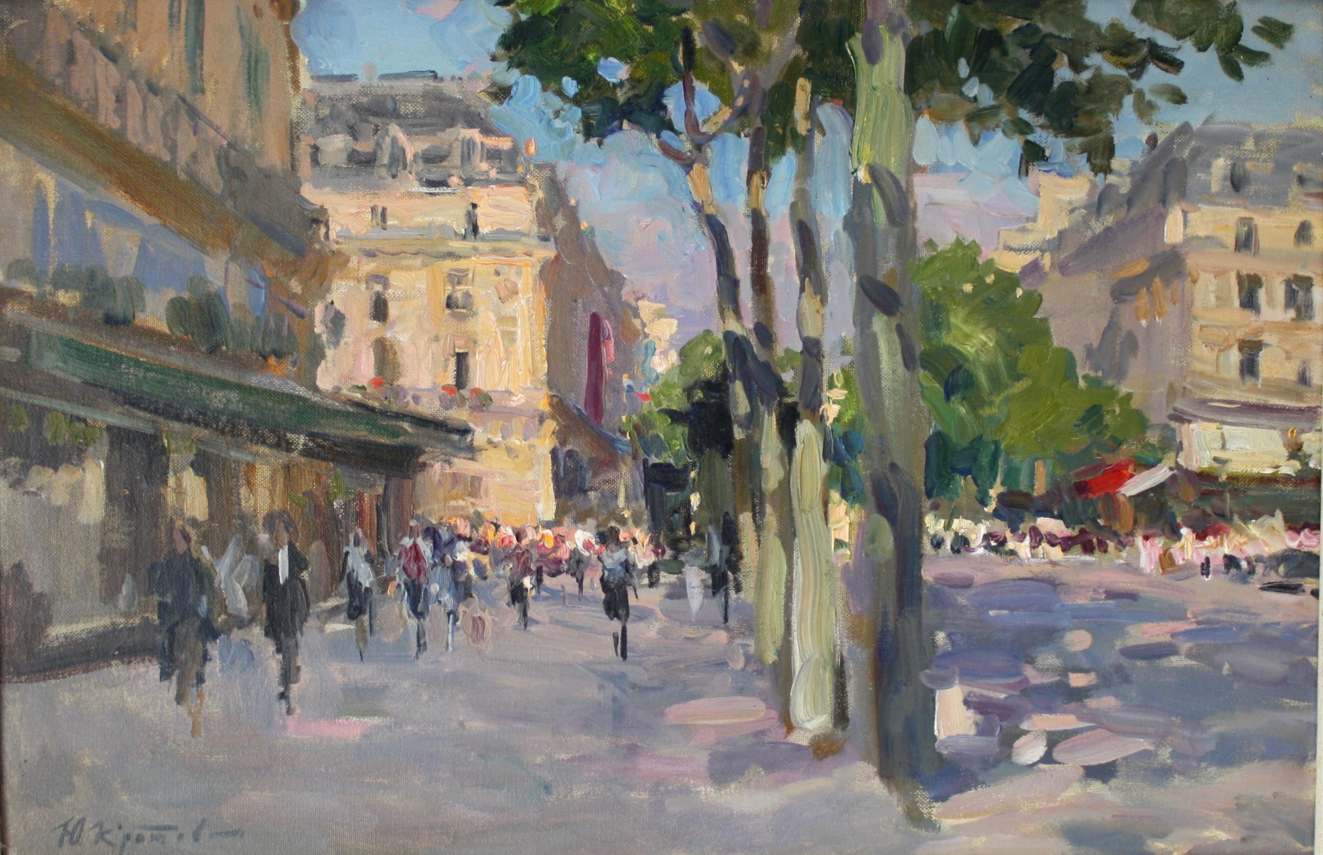 SPRING MORNING PARIS FRANCE,,Yuri Krotov contemporary artist