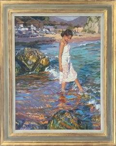 Spring Sun, Formentor Mallorca Yuri Krotov contemporary Russian Artist