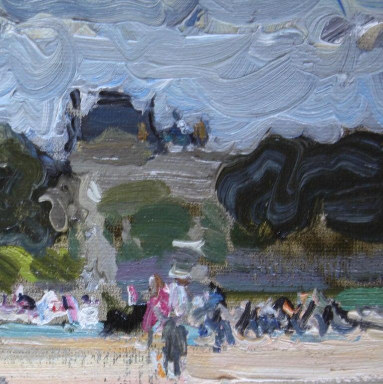 THE BOATING POND TUILERIES GARDES PARIS.Yuri Krotov Russian contemporary  For Sale 3