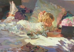 THE CHERISHED BOOK OF FAIRY TAILS..Yuri Krotov.Russian Contemporary Artist
